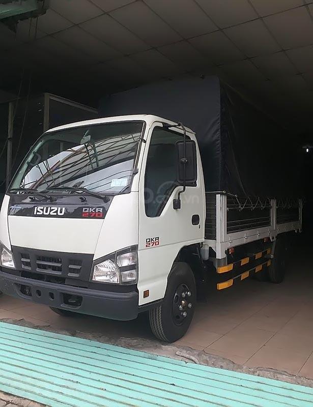 Bán xe Isuzu QKR 77HE4-C019 đời 2018, màu trắng, giá tốt-0