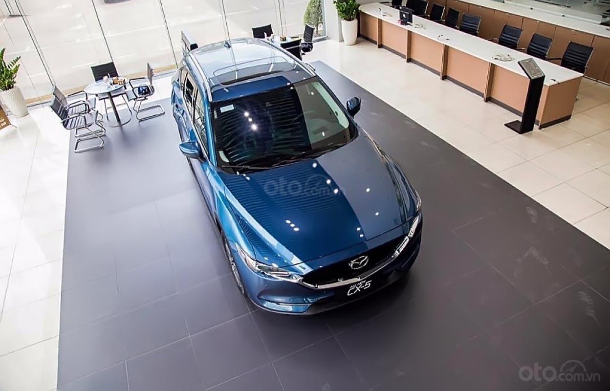 Bán xe Mazda CX 5 2.5 AT 2WD năm 2018, màu xanh lam-0
