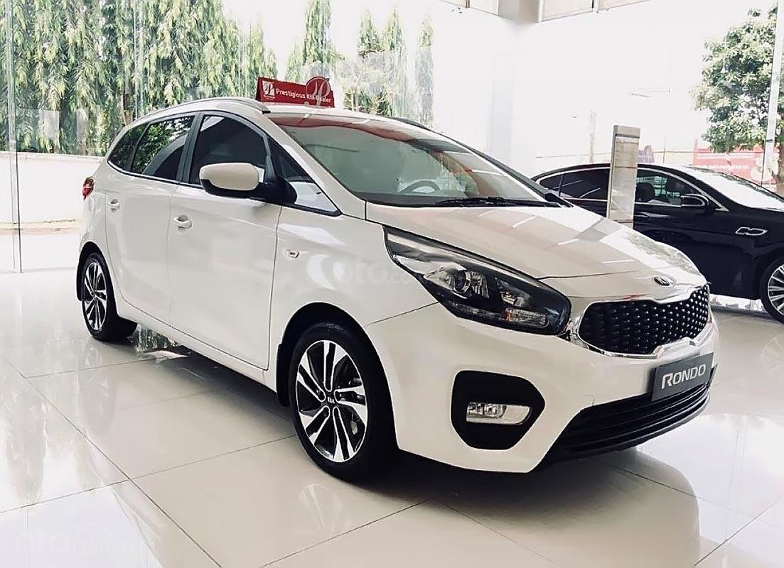 Bán xe Kia Rondo GMT năm 2019, màu trắng, 609 triệu-0