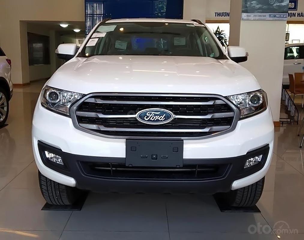 Bán xe Ford Everest Ambiente 2.0 4x2 AT đời 2019, màu trắng, nhập khẩu nguyên chiếc, giá tốt-0
