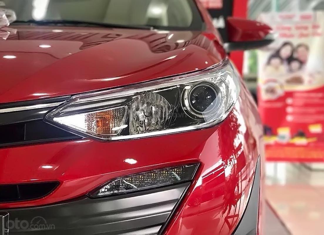 Bán Toyota Vios 1.5G sản xuất 2019, màu đỏ, mới 100%-1