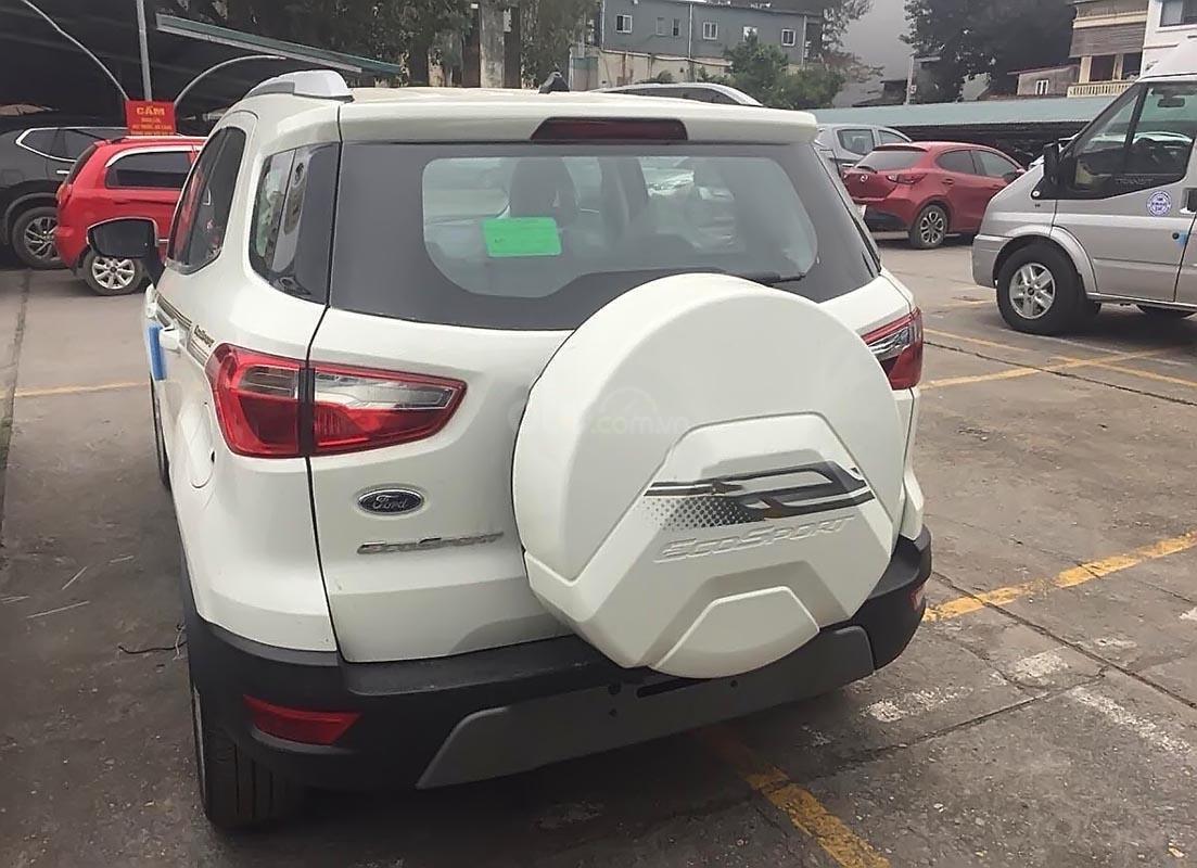 Bán ô tô Ford EcoSport Titanium 1.5L AT 2019, màu trắng, giá chỉ 600 triệu-1
