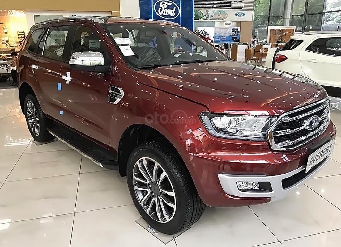 Bán xe Ford Everest Titanium 2019, màu đỏ, nhập khẩu nguyên chiếc (2)