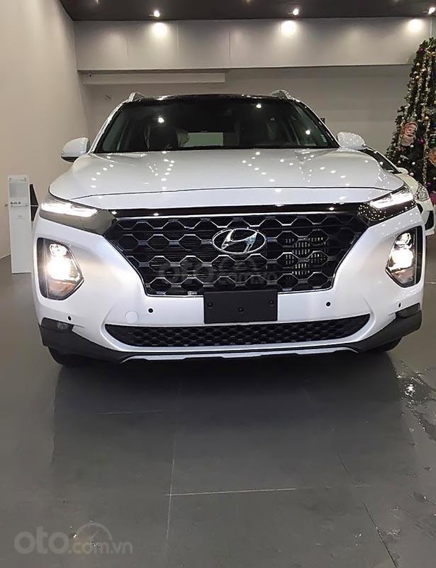Hyundai Vinh bán Hyundai Santa thế mới máy dầu, số tự động, mẫu xe 2019-0