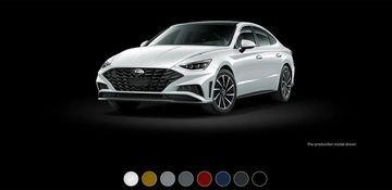 Hyundai Sonata 2020 thêm 8 màu ngoại thất mới.