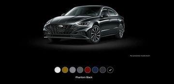 Hyundai Sonata 2020 thêm 8 màu ngoại thất mới 3