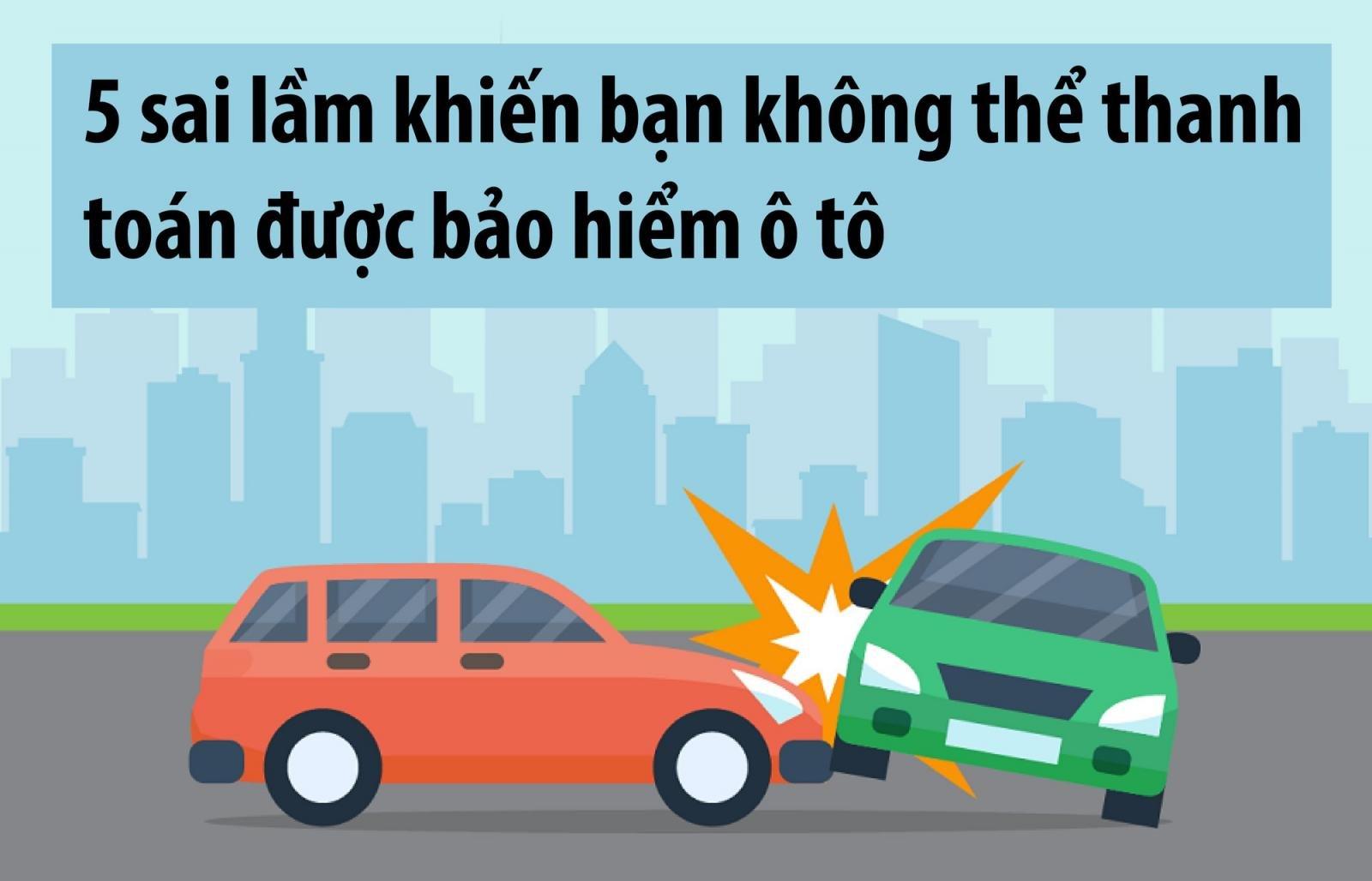 Vì sao bạn khó thanh toán bảo hiểm ô tô khi gặp tai nạn?.