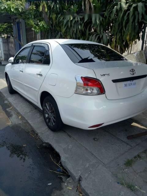 Bán Toyota Vios sản xuất 2009, màu trắng, nhập khẩu-4