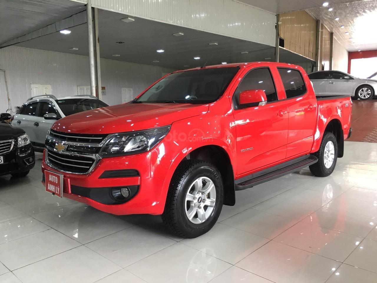 Bán Chevrolet Colorado đời 2017, màu đỏ, nhập khẩu-1