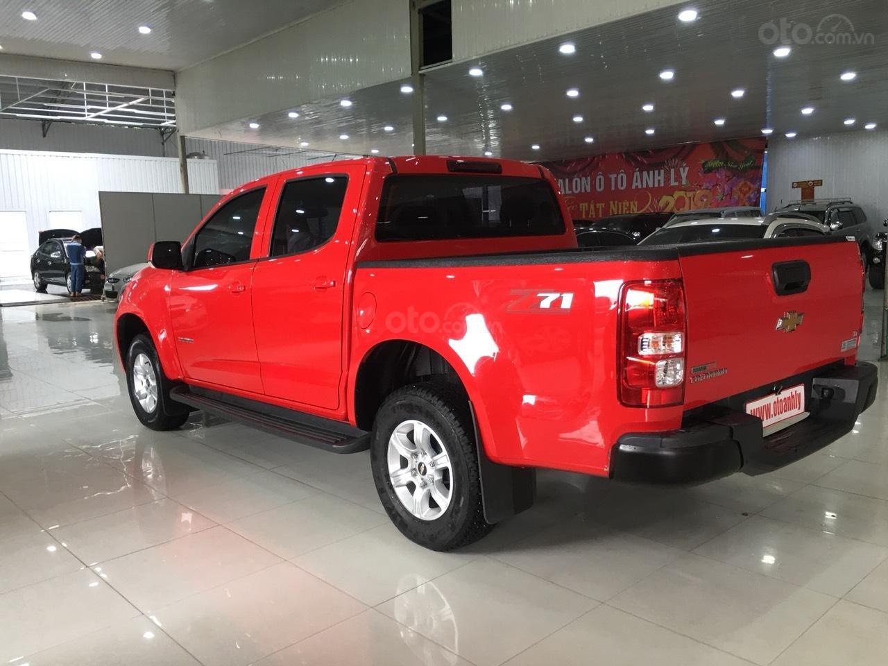 Bán Chevrolet Colorado đời 2017, màu đỏ, nhập khẩu-3