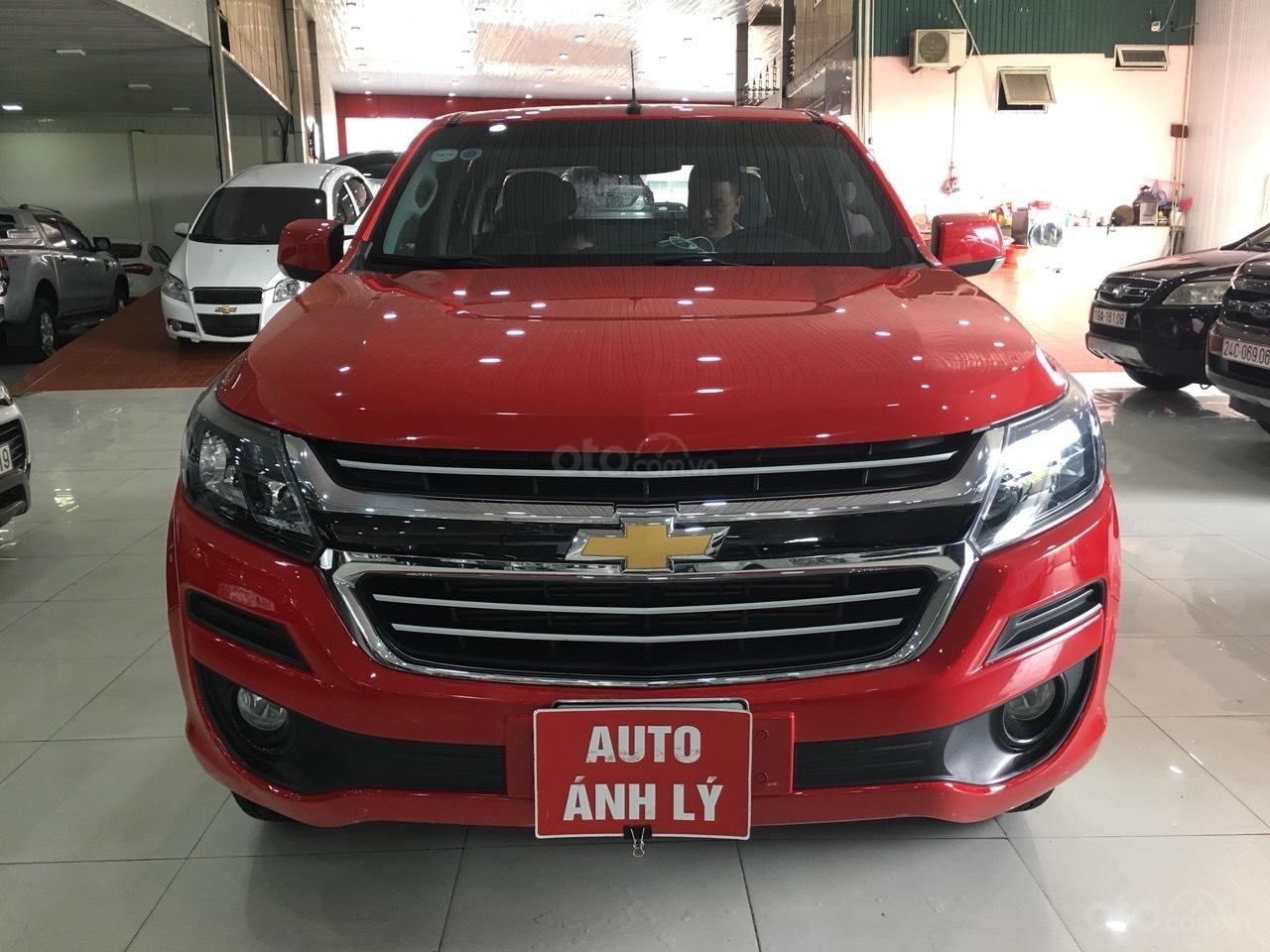 Bán Chevrolet Colorado đời 2017, màu đỏ, nhập khẩu -0