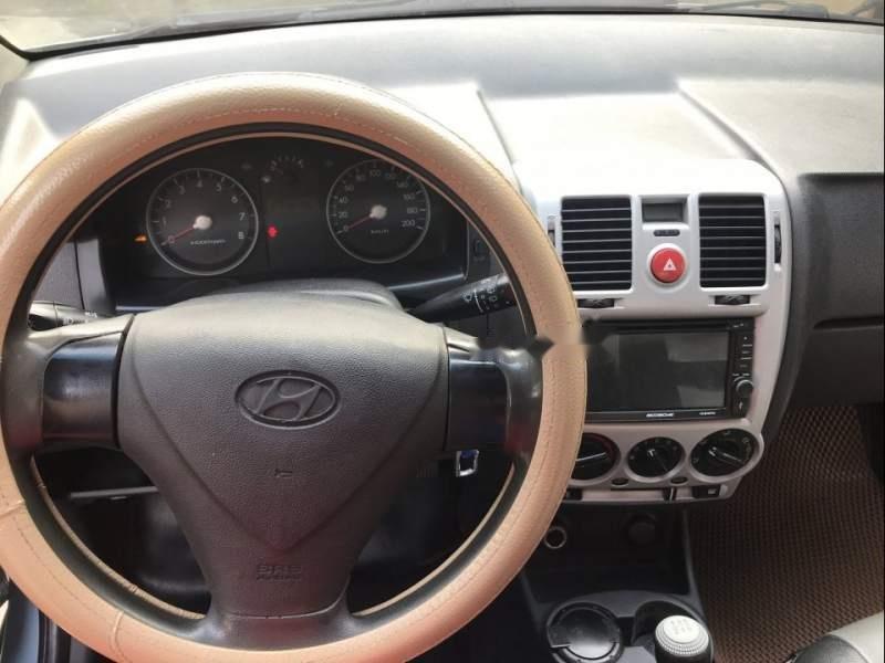 Gia đình bán Hyundai Getz đời 2010, màu xanh lam, xe nhập số tự động-2