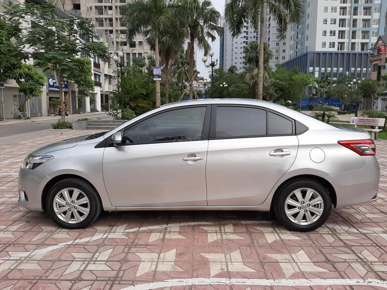 Cần bán Toyota Vios E 1.5MT 2018, màu bạc, 510tr-5