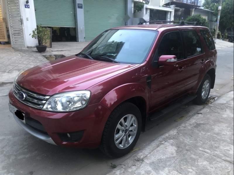 Bán Ford Escape XLT 2.3 AT đời 2010, màu đỏ số tự động-0
