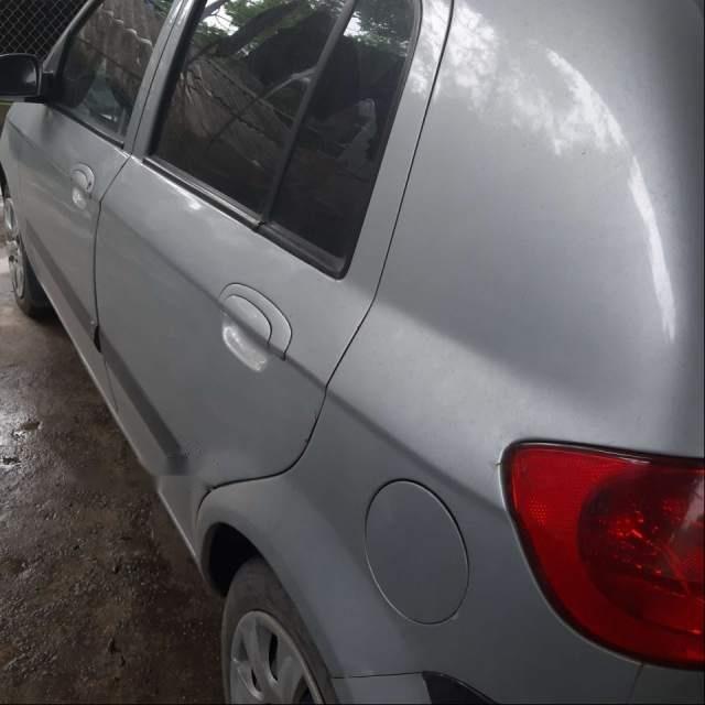 Cần bán lại xe Hyundai Getz đời 2008, màu bạc, nhập khẩu nguyên chiếc-1