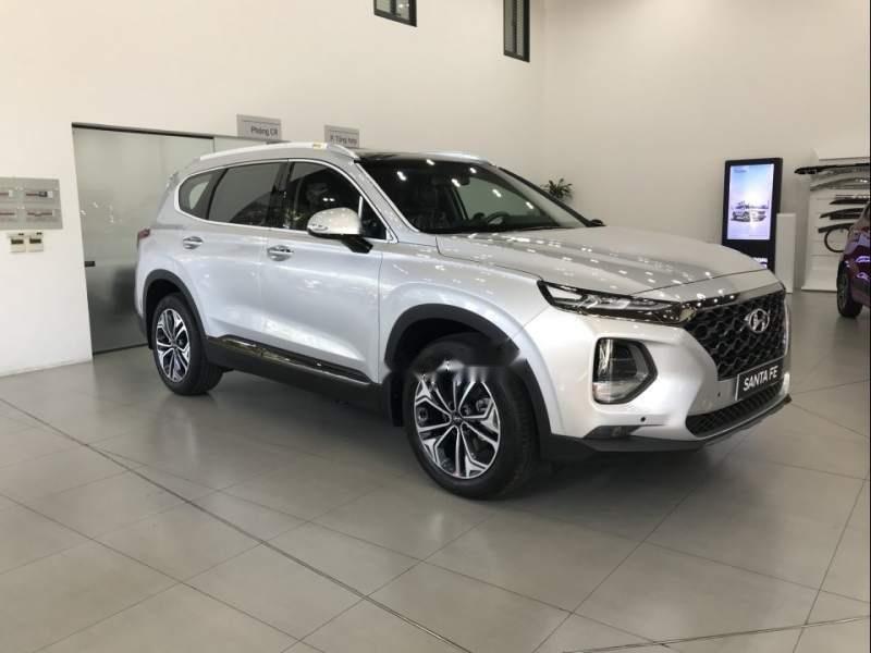 Bán Hyundai Santa Fe đời 2019, xe đủ màu, giao ngay (3)