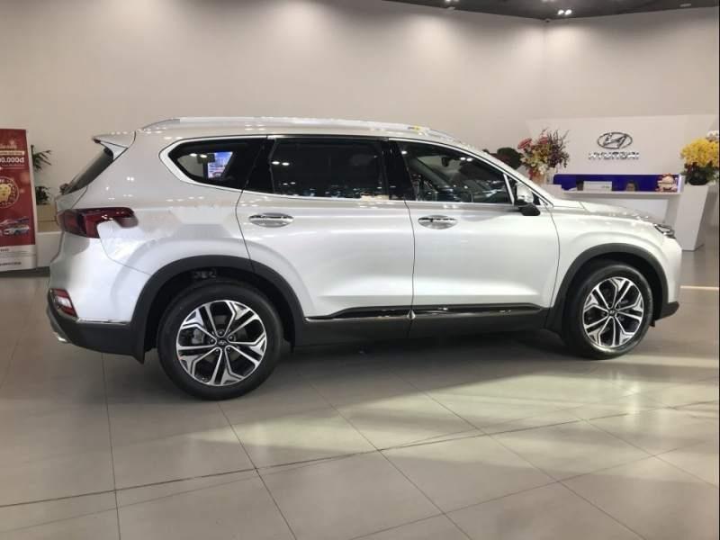 Bán Hyundai Santa Fe đời 2019, xe đủ màu, giao ngay (4)