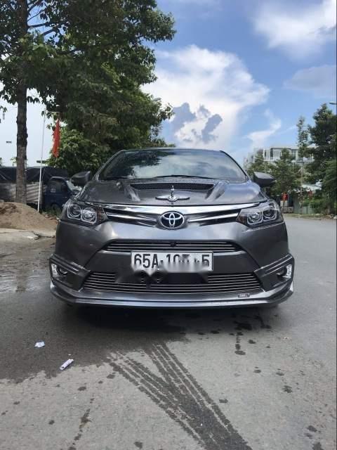 Cần bán xe Toyota Vios E đời 2016, xe đẹp-0