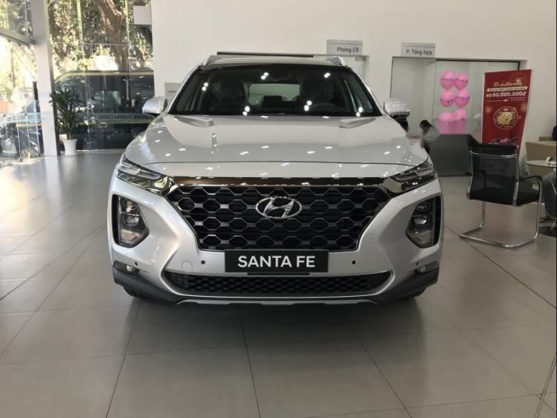 Bán Hyundai Santa Fe đời 2019, xe đủ màu, giao ngay (1)