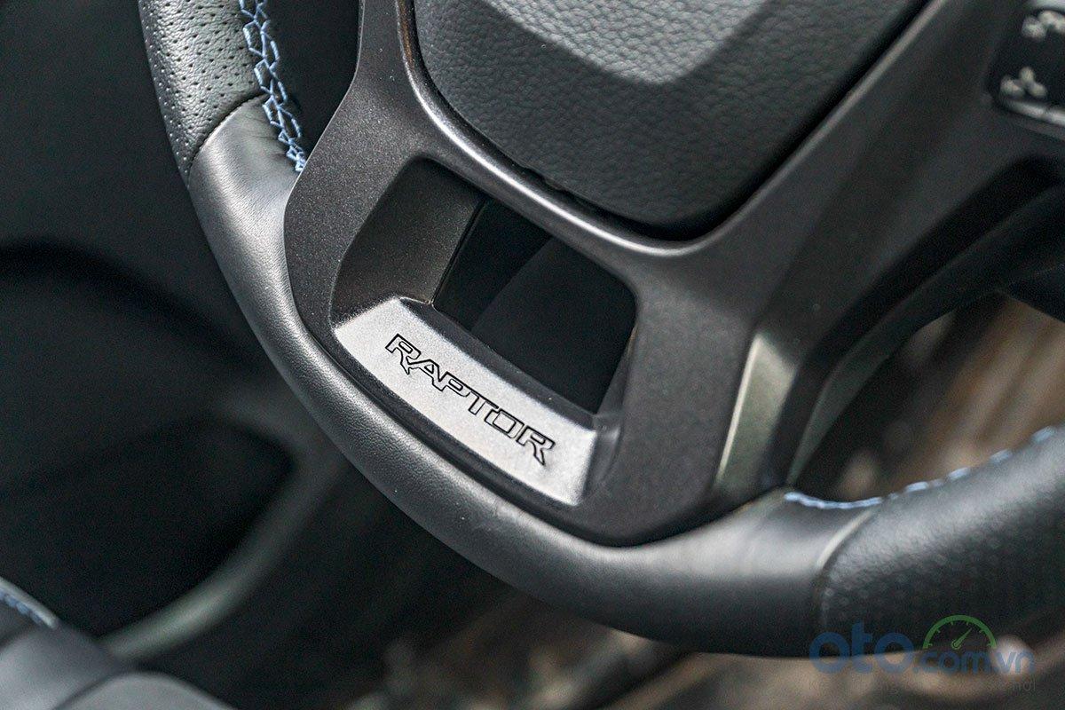 Vô lăng của Ford Ranger Raptor 2019.
