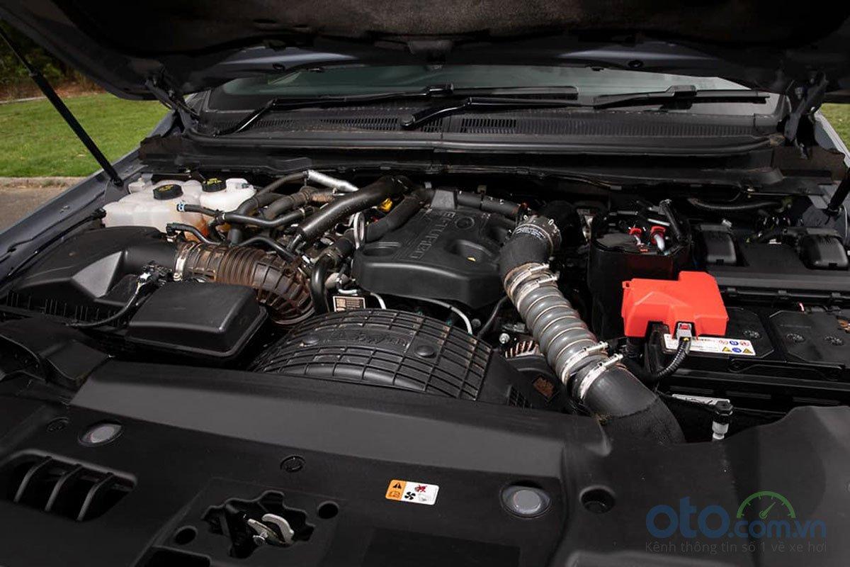 Động cơ diesel tăng áp kép 2,0 lít 4 xi-lanh của Ford Ranger Raptor 2019 2