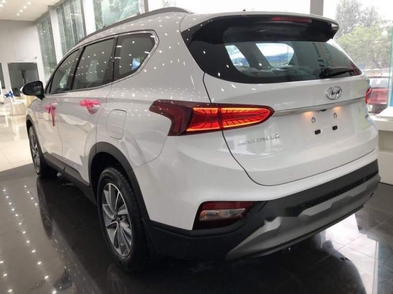 Bán Hyundai Santa Fe đời 2019, màu trắng, giá 995tr-5