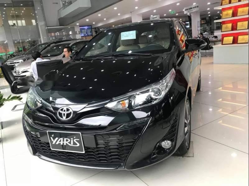 Cần bán Toyota Yaris đời 2019, màu đen, nhập khẩu Thái Lan giá cạnh tranh (2)