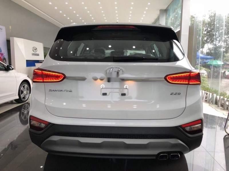 Bán Hyundai Santa Fe đời 2019, màu trắng, giá 995tr-2