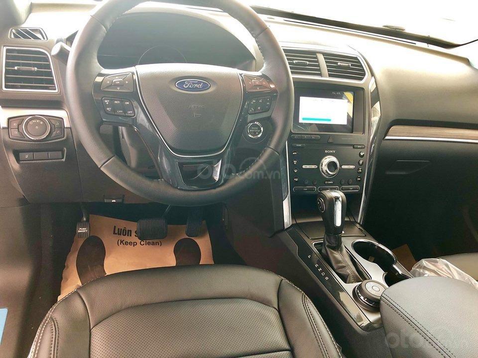 Tặng: BHVC, phim, bệ bước điện, camera, phủ ceramic, xịt gầm, lót sàn khi mua xe Ford Explorer 2019, LH: 091.888.9278-1