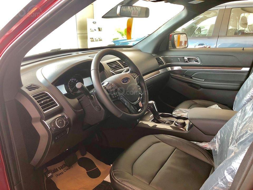 Tặng: BHVC, phim, bệ bước điện, camera, phủ ceramic, xịt gầm, lót sàn khi mua xe Ford Explorer 2019, LH: 091.888.9278-2