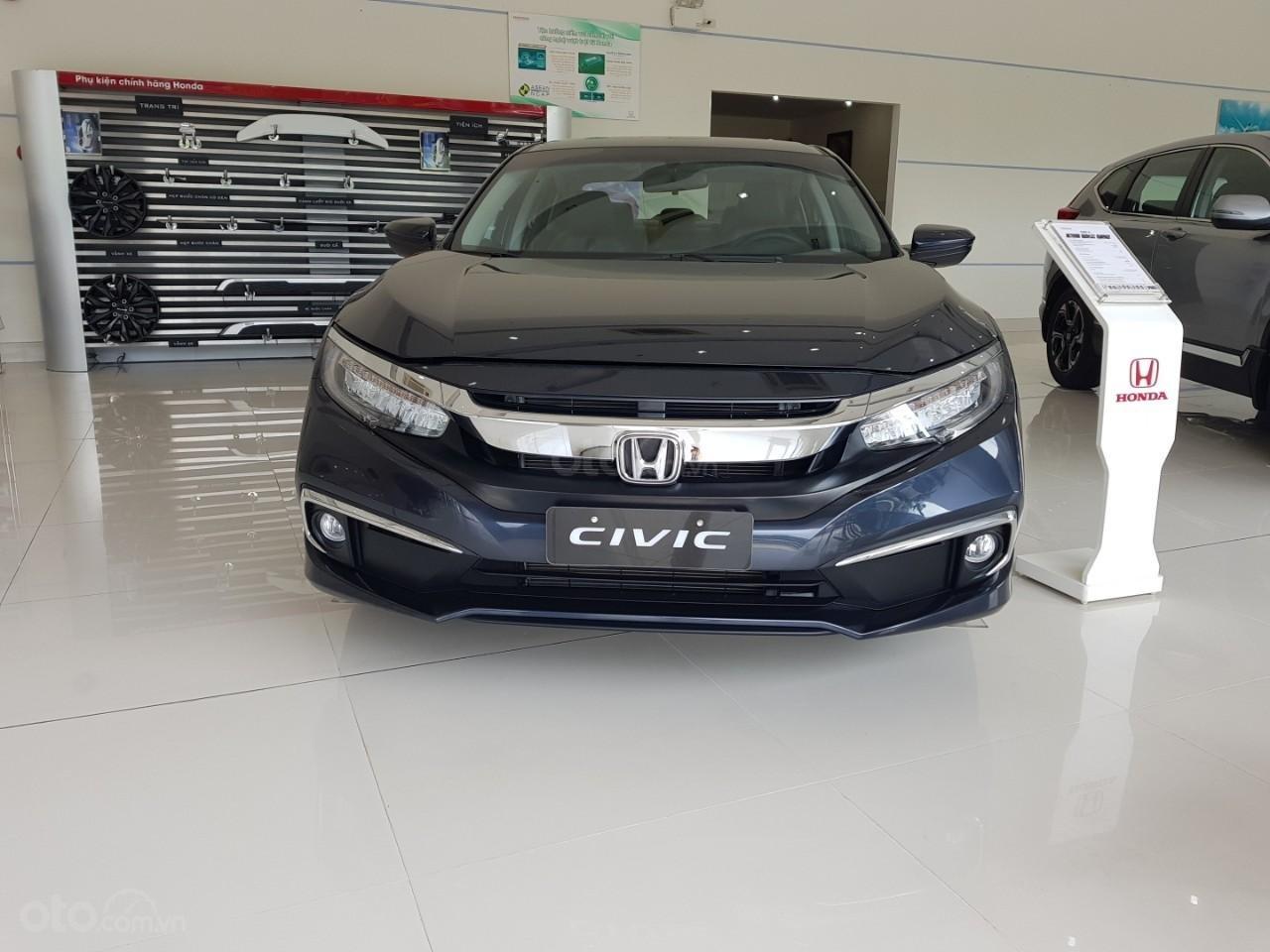 Bán Honda Civic 2019 mẫu mới, giá tốt, hỗ trợ trả góp lãi suất thấp, bao hồ sơ vay-0