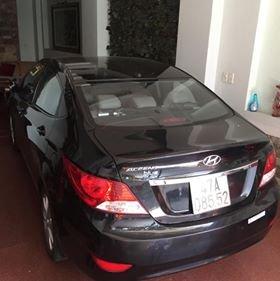 Bán Hyundai Accent 1.4AT đời 2014, màu đen, nhập khẩu nguyên chiếc đẹp như mới, giá chỉ 430 triệu-1