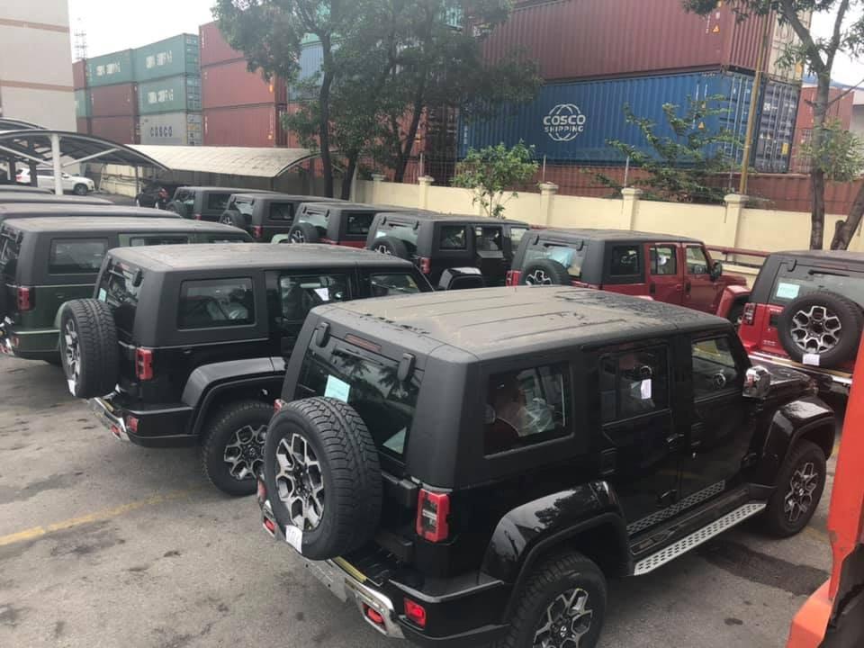 Mẫu SUV BAIC BJ40L nhập khẩu từ Trung Quốc về Việt Nam với giá gần 1 tỷ đồng - Ảnh 2.