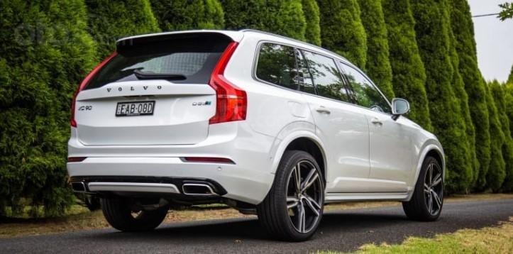 Volvo XC90 2019 đuôi xe