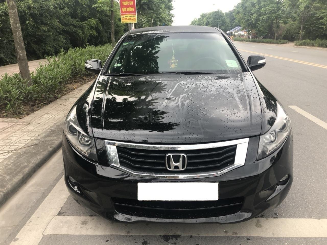 Bán ô tô Honda Accord 2.0 năm sản xuất 2010, màu đen, nhập khẩu nguyên chiếc (3)