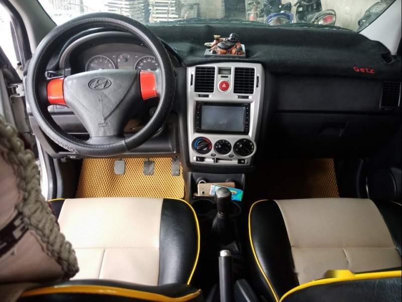 Bán Hyundai Getz 2009, màu bạc, xe nhập, giá 210tr-2