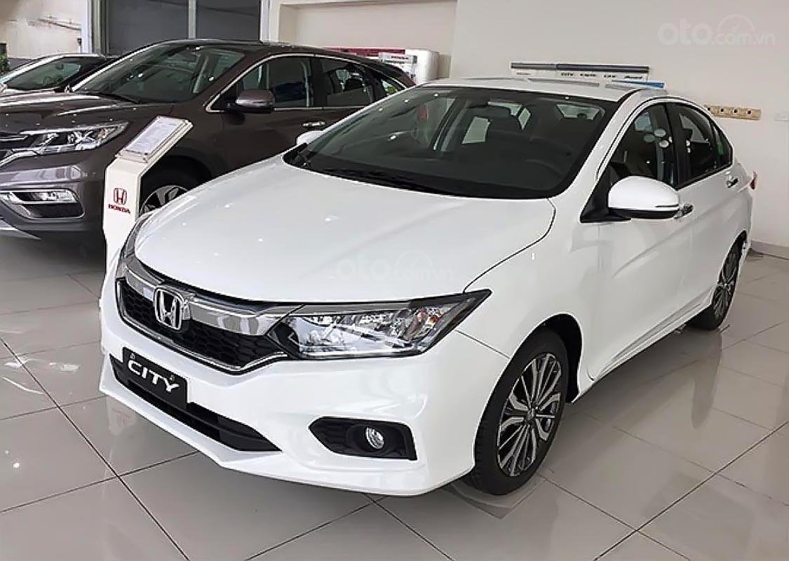 Bán xe Honda City 1.5TOP năm 2019, màu trắng, 580 triệu-0