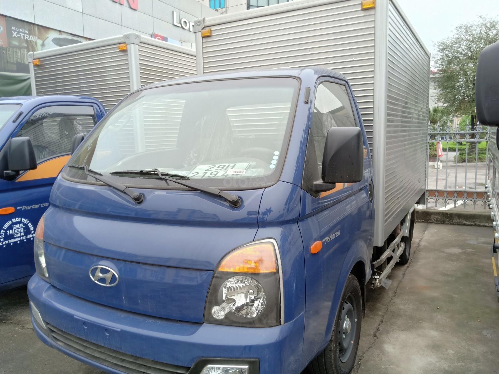 Bán Hyundai Porter đời 2019, màu xanh lam, giá 360tr (2)