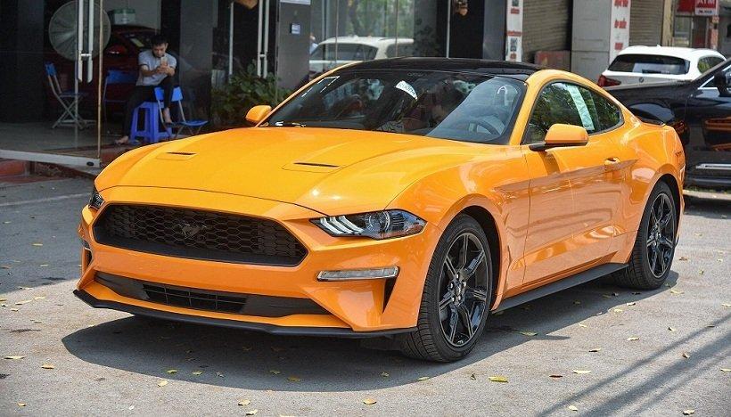 Ford Mustang 2019 màu cam cực độc đầu tiên xuất hiện tại Việt Nam - Ảnh 1.
