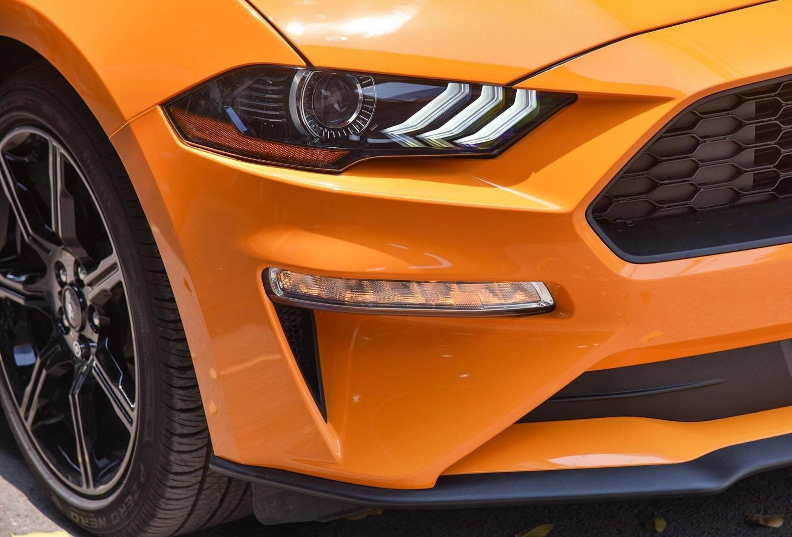 Ford Mustang 2019 màu cam cực độc đầu tiên xuất hiện tại Việt Nam - Ảnh 4.