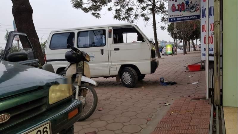 Bán Suzuki Super Carry Van 2002, màu trắng chính chủ, giá tốt-4