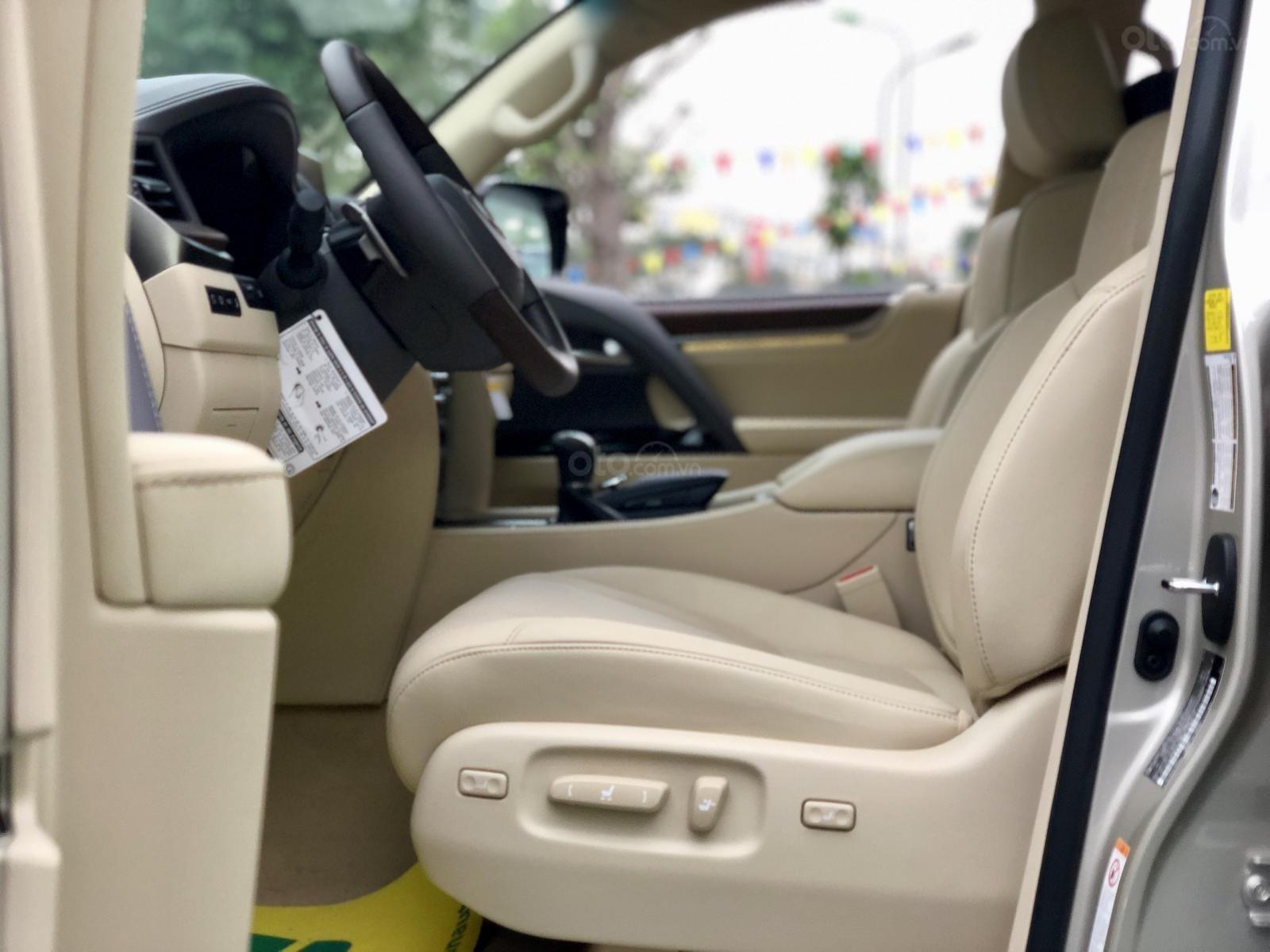Bán Lexus LX 570 sx 2019 nhập Mỹ, màu vàng cát, LH em Hương 0945392468-16