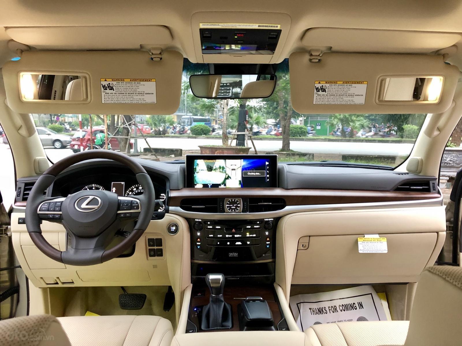 Bán Lexus LX 570 sx 2019 nhập Mỹ, màu vàng cát, LH em Hương 0945392468-18