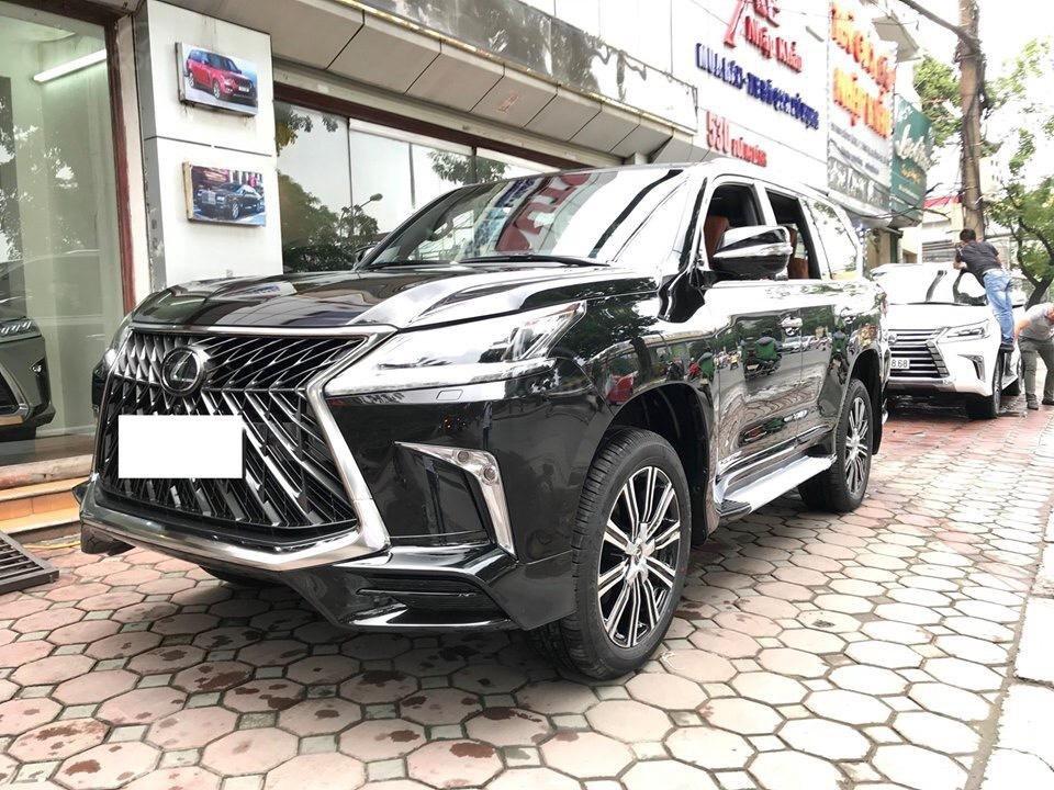 MT Auto bán Lexus LX 570S Super Sport SX 2018, xe tên công ty XHĐ cao, màu đen. LH em Hương 0945392468-2