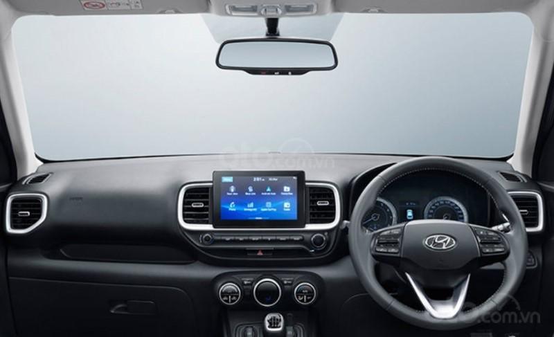 Nội thất xe Hyundai Venue bản Ân.