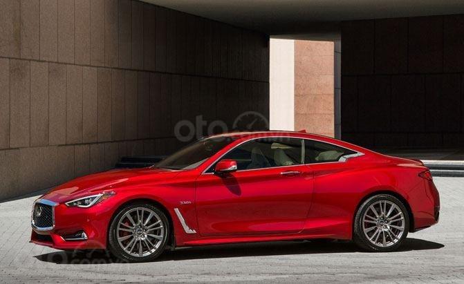 Top 10 mẫu Coupe AWD tốt nhất - Infiniti Q60 AWD đúng chất