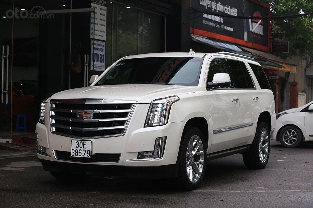Cần bán Cadillac Escalade đời 2016, màu trắng, nhập khẩu-1