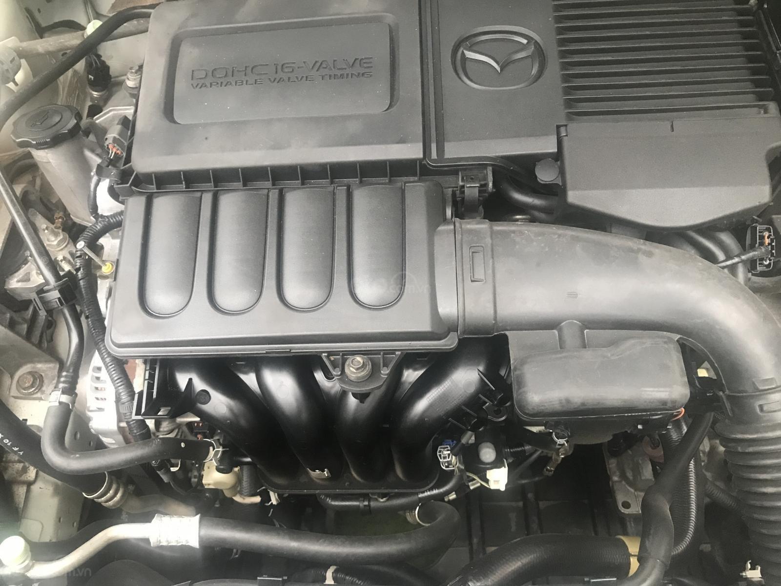 Bán Mazda 3 1.5 AT, sản xuất 2010, màu trắng-8