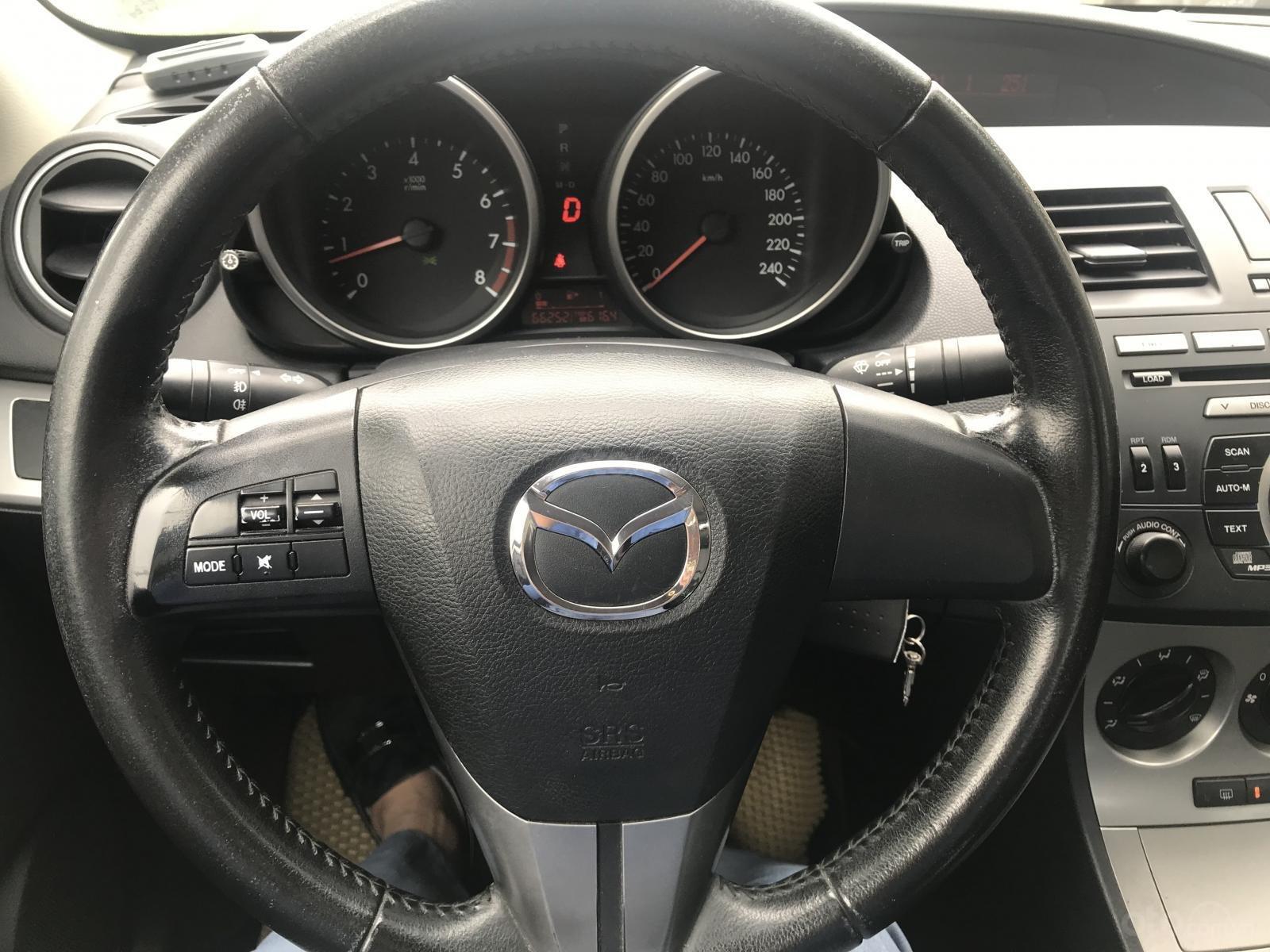 Bán Mazda 3 1.5 AT, sản xuất 2010, màu trắng-9