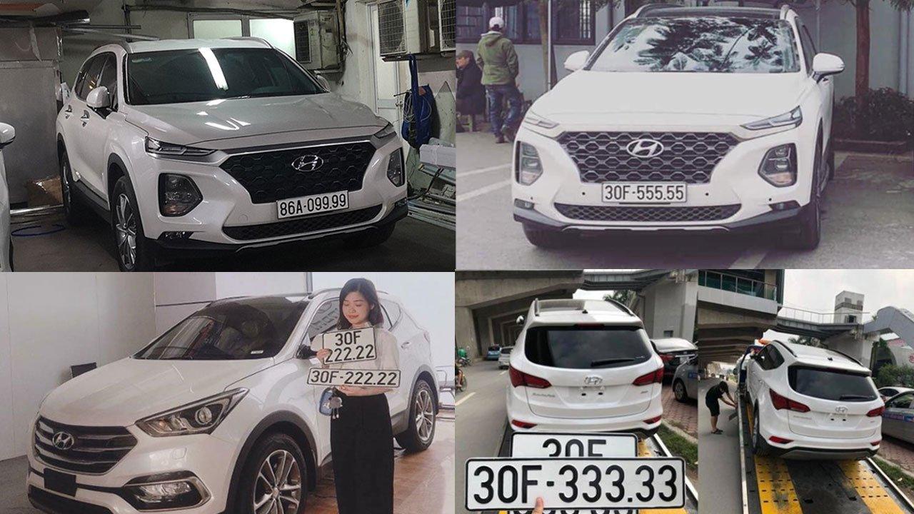 """Hyundai Santa Fe - Dòng xe giúp nhiều người đổi đời nhờ """"có duyên"""" với biển số siêu đẹp a1"""
